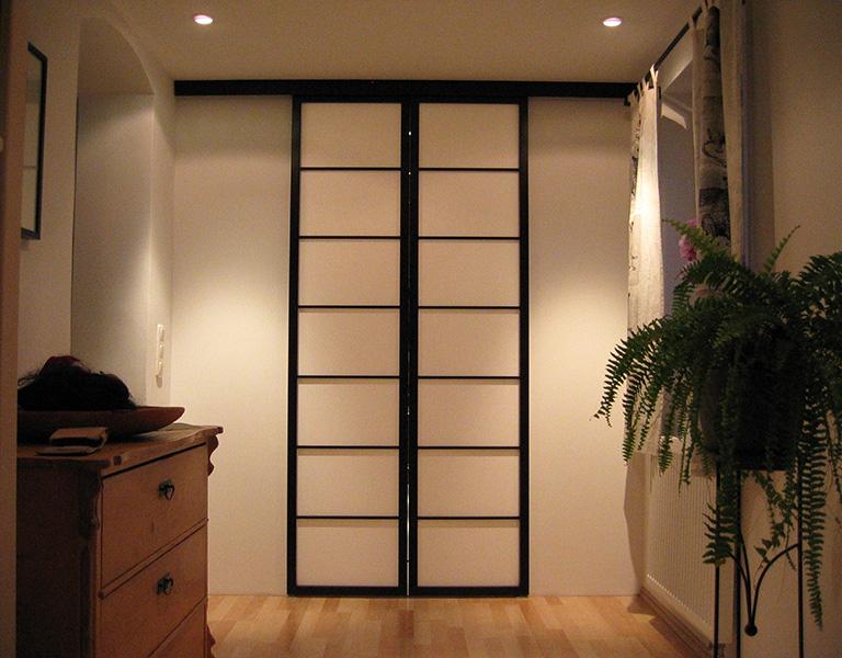 varianten schr nke raumteiler fenster fine shoji. Black Bedroom Furniture Sets. Home Design Ideas